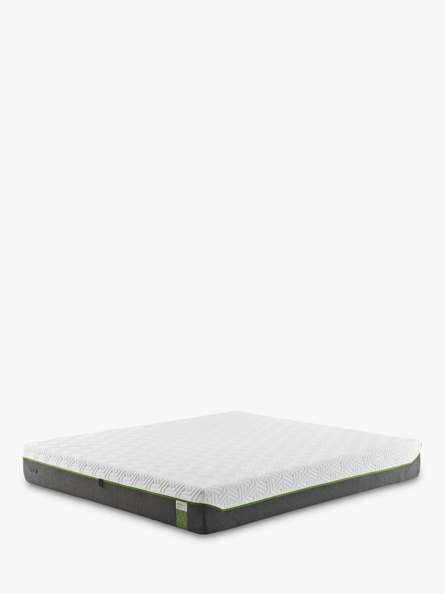 online retailer 37e66 72bcd Tempur Hybrid Elite 25 Pocket Spring Memory Foam Mattress, Medium, King Size