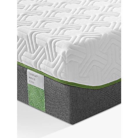 Tempur Hybrid Elite 25 Pocket Spring Memory Foam Mattress Medium Double Online At