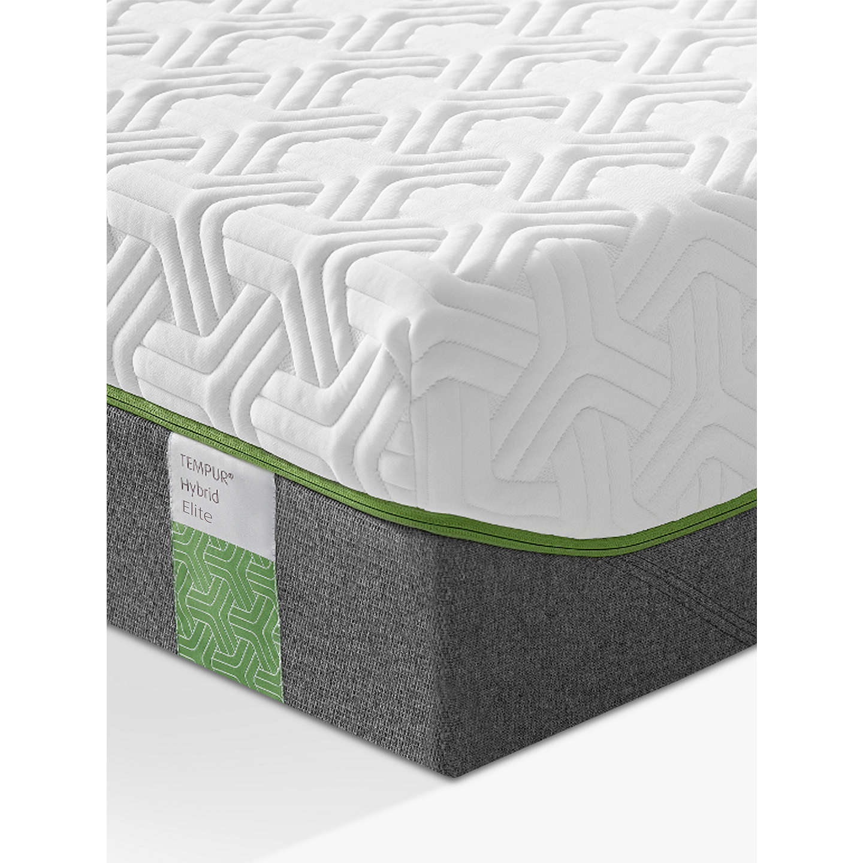 tempur hybrid elite 25 pocket spring memory foam mattress medium