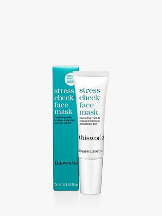 This Works Stress Check Face Mask, 50ml
