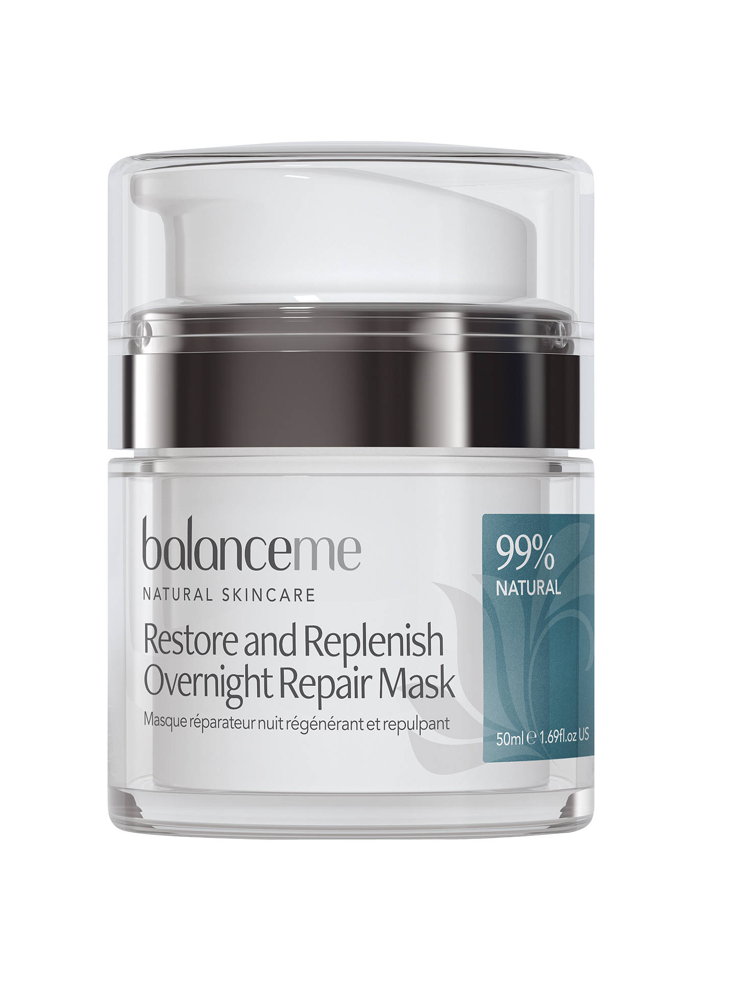 BuyBalance Me Restore And Replenish Overnight Repair Mask, 50ml Online at johnlewis.com