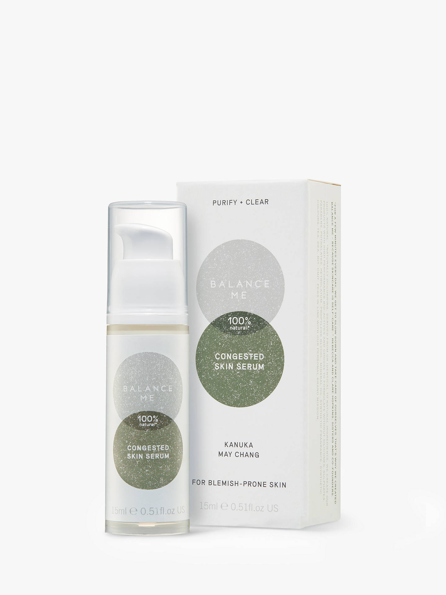 Buy Balance Me Congested Skin Serum, 15ml Online at johnlewis.com