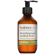 Buy Balance Me Revitalising Hand & Body Wash, 280ml Online at johnlewis.com