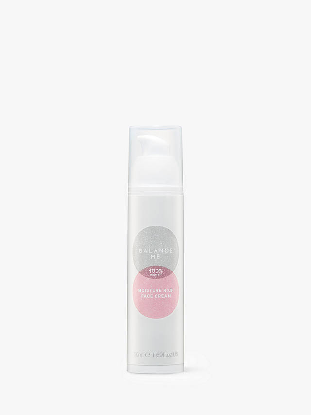Buy Balance Me Moisture Rich Face Cream, 50ml Online at johnlewis.com