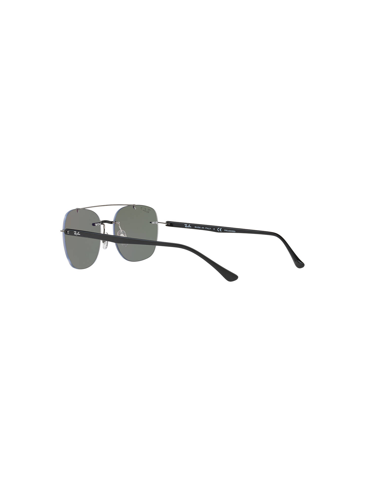 85330f898ab Ray-Ban RB4280 Polarised Square Sunglasses at John Lewis   Partners