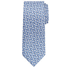 Buy John Lewis Sycamore Linen-Silk Tie, Light Blue Online at johnlewis.com