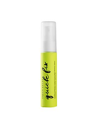Urban Decay Quick Fix Hydra-Charged Complexion Prep Spray, Travel Size