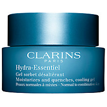 Buy Clarins Hydra Essentiel Cooling Cream Gel, 50ml Online at johnlewis.com