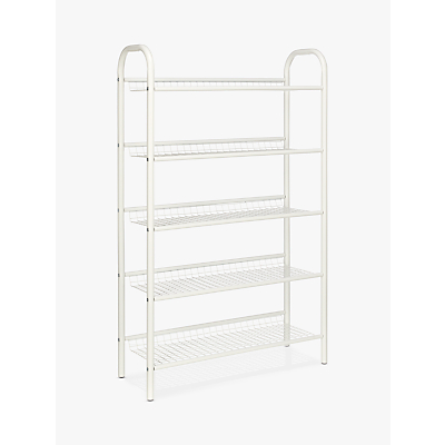 John Lewis & Partners 5 Tier Shoe Rack