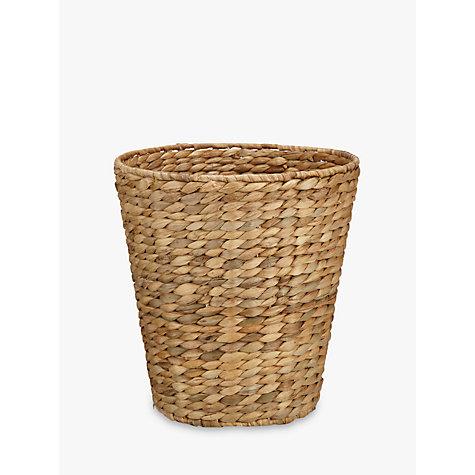 buy john lewis water hyacinth wastepaper bin john lewis. Black Bedroom Furniture Sets. Home Design Ideas