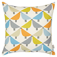 Buy Scion All Over Birds Cushion, Multi Online at johnlewis.com