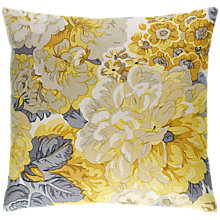Buy Sanderson Rose and Peony Cushion, Primrose Online at johnlewis.com