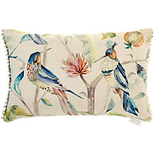 Buy Voyage Hummingbirds Cushion, Blue Online at johnlewis.com