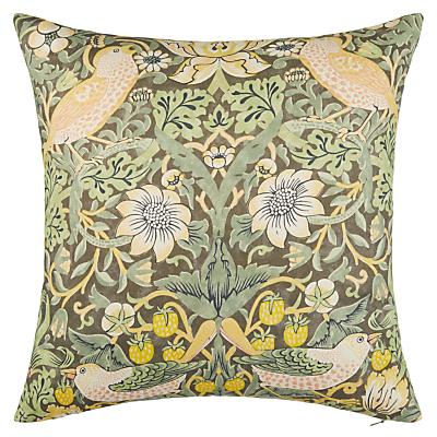 Morris & Co. Strawberry Thief Cushion