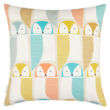 Buy Scion Barney Owl Cushion, Multi Online at johnlewis.com