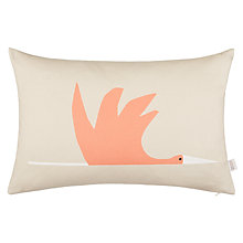 Buy Scion Colin Crane Cushion, Orange / Grey Online at johnlewis.com