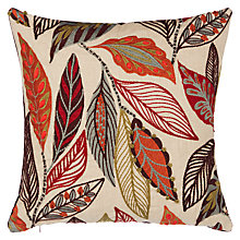 Buy Mulberry Home Forest Leaves Cushion Online at johnlewis.com