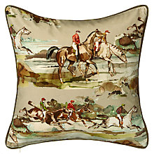 Buy Mulberry Home Morning Horses Cushion Online at johnlewis.com