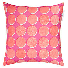 Buy Sunny Todd Prints Spots and Dots Cushion, Pink Online at johnlewis.com