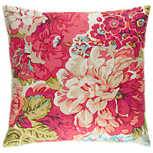 Buy Sanderson Rose and Peony Cushion, Vintage Online at johnlewis.com