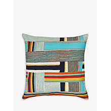 Buy west elm Pinwheel Crewel Cushion, Multi Online at johnlewis.com