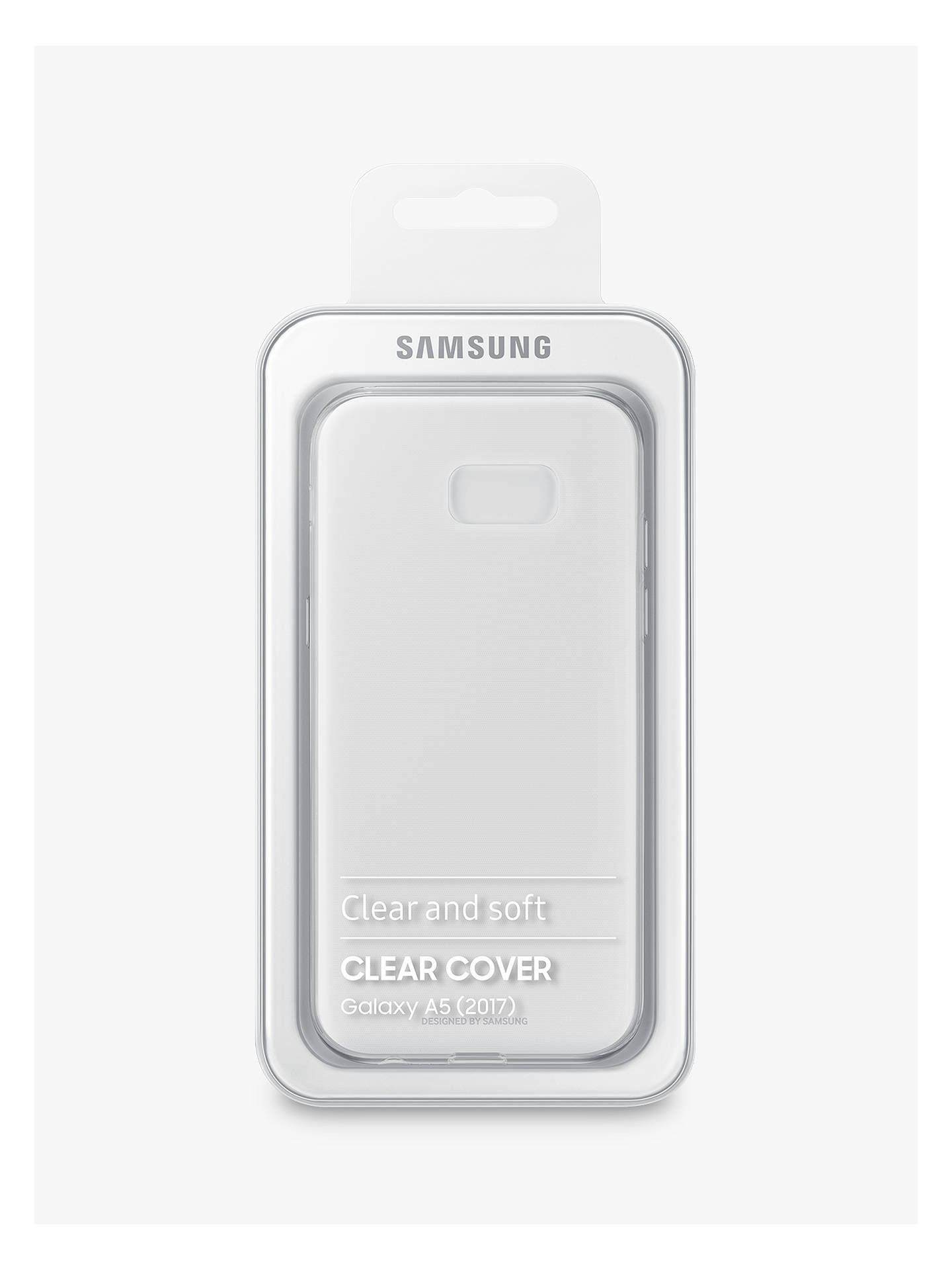 BuySamsung Galaxy A5 (2017) Smartphone Clear Cover Online at johnlewis.com