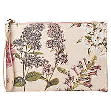 Buy Whistles Hydranger Print Wristlet, Nude Online at johnlewis.com