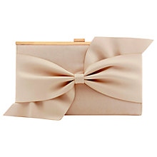 Buy Coast Una Bow Clutch Bag Online at johnlewis.com