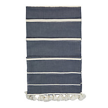 Buy Hobbs Grace Chambray Scarf, Blue/Multi Online at johnlewis.com