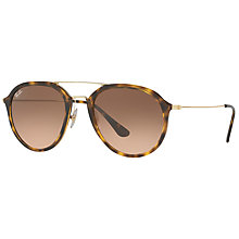 Buy Ray-Ban RB4253 Aviator Sunglasses Online at johnlewis.com
