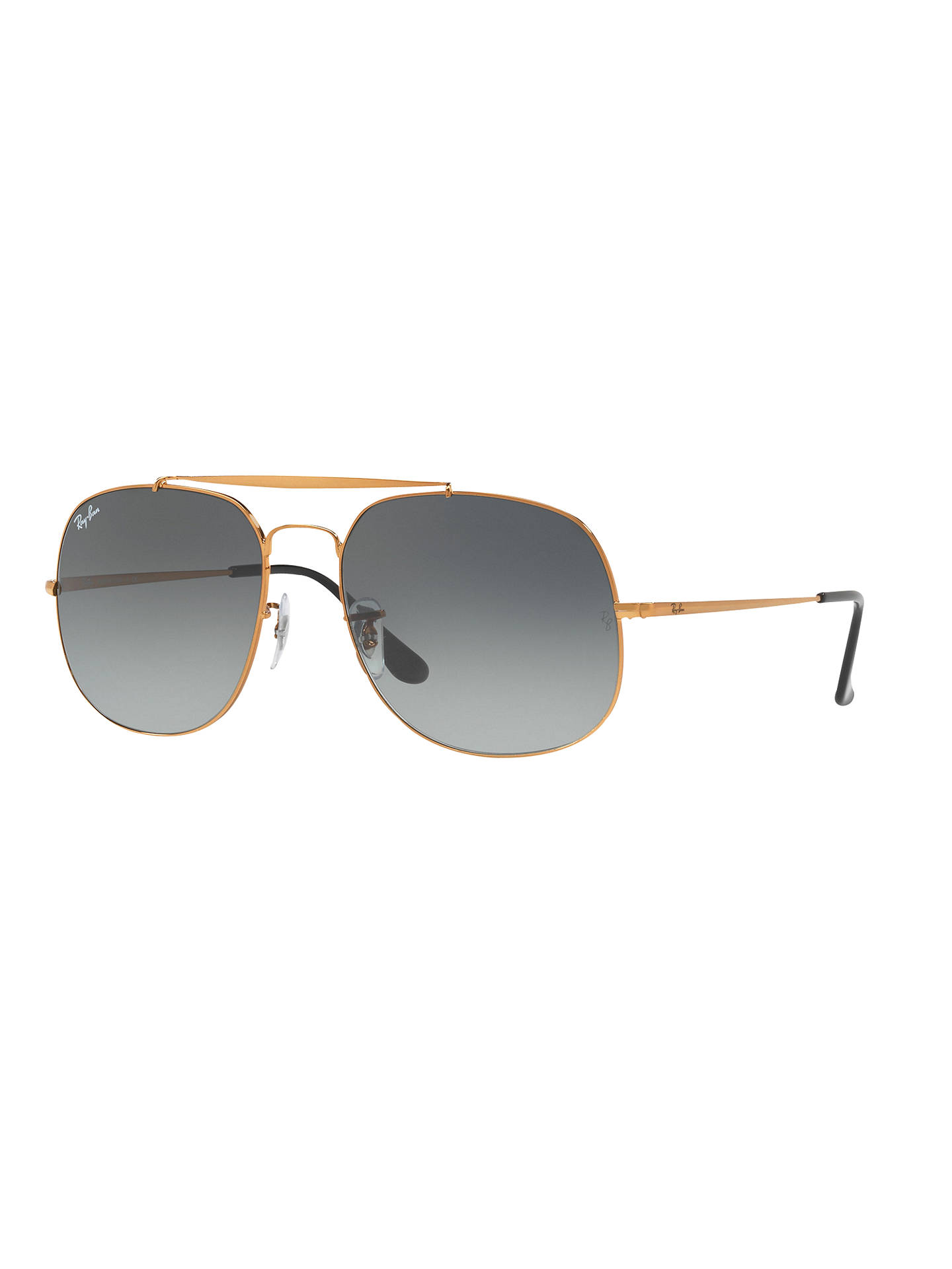 6fced29f589 Ray-Ban RB3561 The General Square Sunglasses at John Lewis   Partners