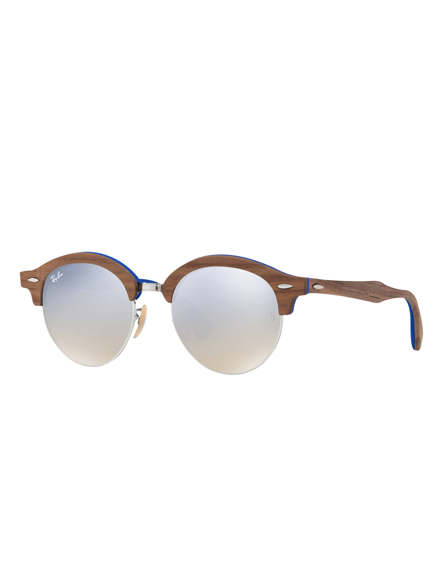 7f025655fa BuyRay-Ban RB4246M Clubround Wood Round Sunglasses
