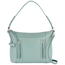 Buy Radley Northcote Road Medium Leather Grab Bag, Green Online at johnlewis.com