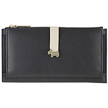 Buy Radley Hamilton Leather Large Zip Matinee Purse Online at johnlewis.com