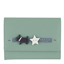 Buy Radley Charm Leather Medium Flapover Purse Online at johnlewis.com