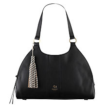 Buy Radley Ormond Large Leather Tote Bag, Black Online at johnlewis.com