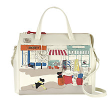 Buy Radley Radley Road Leather Picture Grab Bag Online at johnlewis.com