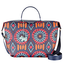 Buy Radley Summer Tribes Grab Bag, Navy Online at johnlewis.com