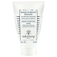 Buy Sisley Tropical Resins Deeply Purifying Mask, 60ml Online at johnlewis.com
