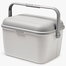 Buy John Lewis Premium Baby Bath Box, Pearl/Grey Online at johnlewis.com