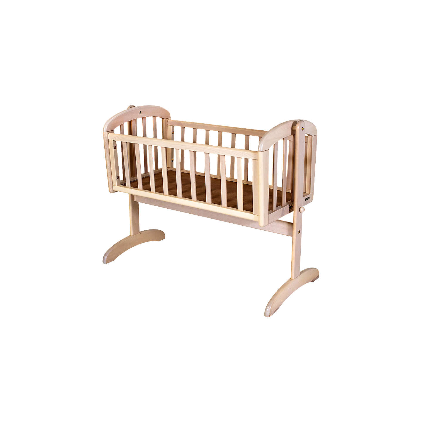 BuyJohn Lewis Anna Swinging Crib, White Wash Online at johnlewis.com