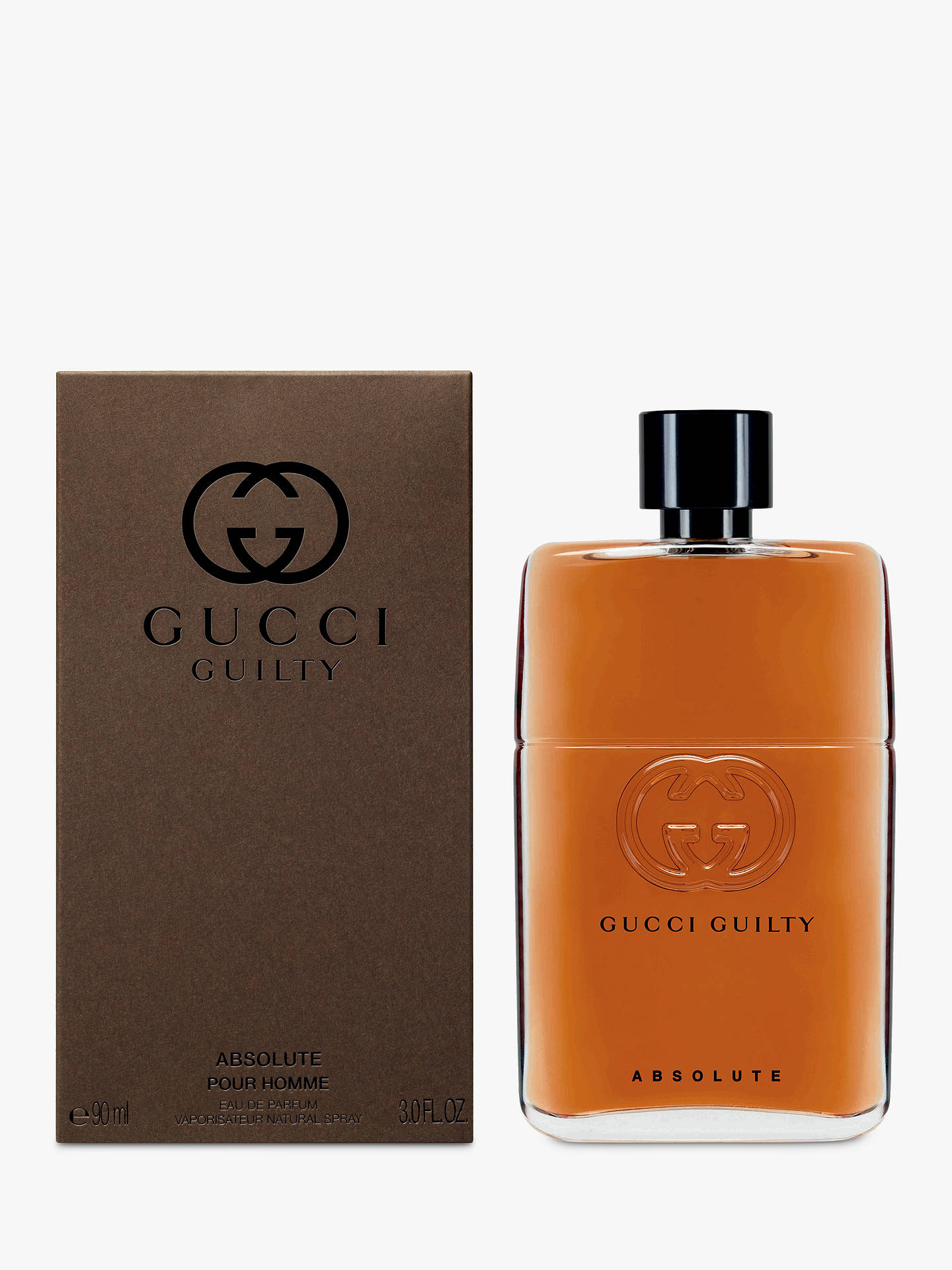 Buy Gucci Guilty Absolute Eau de Parfum for Him, 90ml Online at johnlewis.com