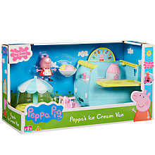 Buy Peppa Pig Peppa's Ice Cream Van Online at johnlewis.com