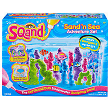 Buy Cra-Z-Art Sqand Sand 'n Sea Adventure Pack Online at johnlewis.com