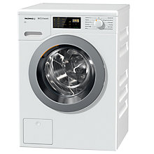 Buy Miele WDB020 Freestanding Eco Washing Machine, 7kg Load, A+++ Energy Rating, 1400rpm Spin, White Online at johnlewis.com
