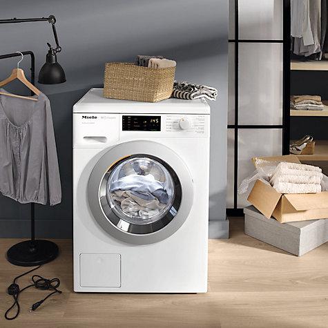buy miele wdb020 freestanding eco washing machine 7kg. Black Bedroom Furniture Sets. Home Design Ideas