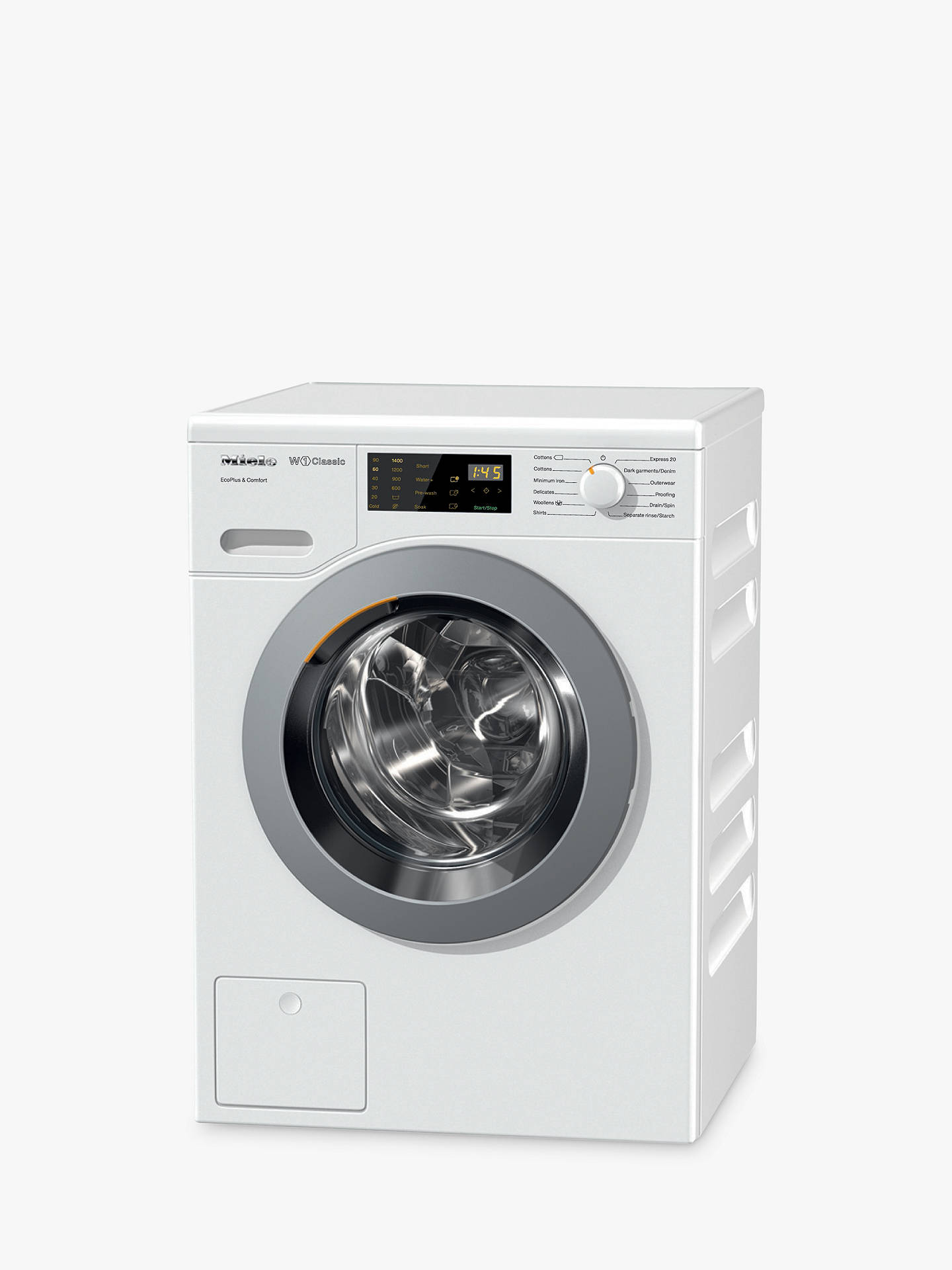 Miele WDD020 Freestanding Eco Washing Machine, 8kg Load, A+++ Energy  Rating, 1400rpm Spin, White