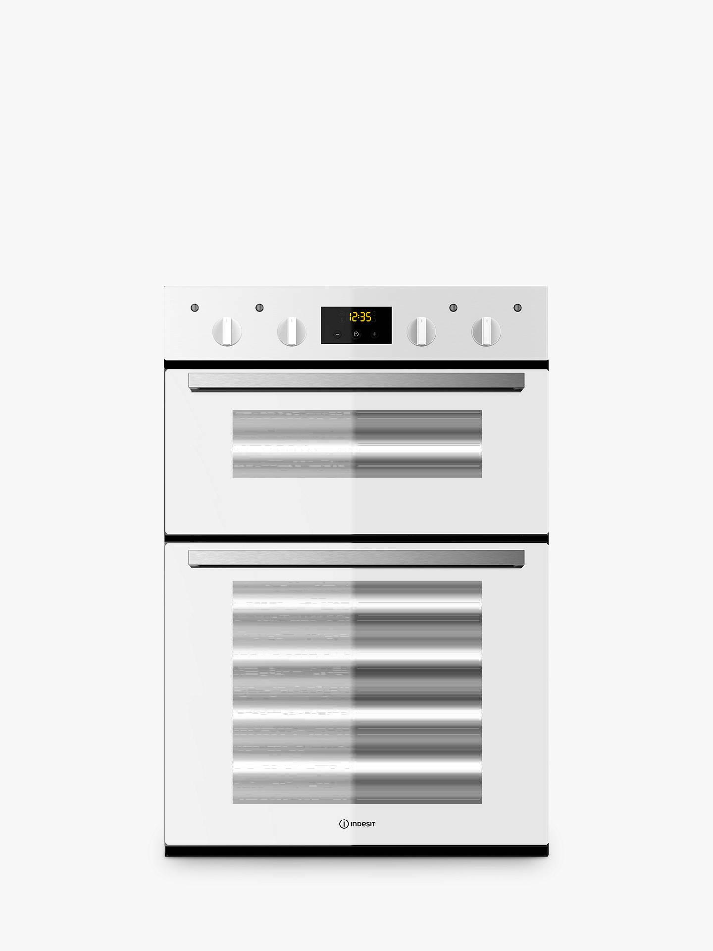 indesit idd6340 built in electric double oven at john. Black Bedroom Furniture Sets. Home Design Ideas