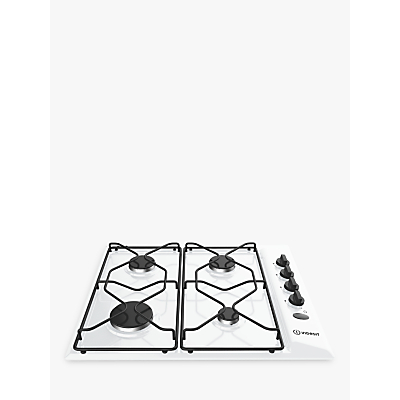 Indesit Aria PAA642IWH Built-In Gas Hob, White