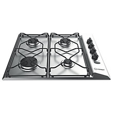 Buy Indesit Aria PAA642IXI Built-In Gas Hob, Stainless Steel Online at johnlewis.com